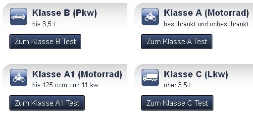 Führerschein Prüfung Testfragen Auto-Bild